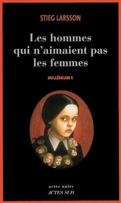 Couverture de Millénium, Tome 1 : Les hommes qui n'aimaient pas les femmes