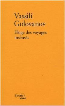 Couverture du livre : Éloge des voyages insensés