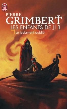 Couverture du livre : Les Enfants de Ji, Tome 1 : Le Testament oublié