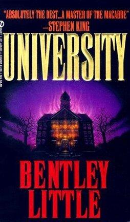 Couverture du livre : University