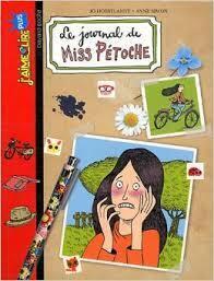 Couverture du livre : Le journal de Miss Pétoche