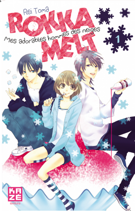Couverture du livre : Rokka Melt - Mes adorables hommes des neiges, tome 1