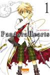 couverture Pandora Hearts, Tome 1