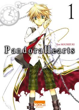 Couverture du livre : Pandora Hearts, Tome 1