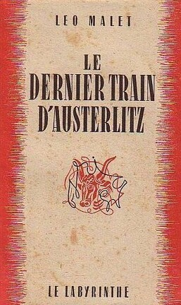 Couverture du livre : Le dernier train d'Austerlitz