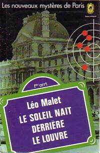Couverture du livre : Le soleil naît derrière le Louvre