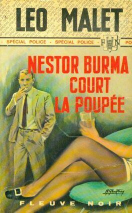 5af672cc955 Couverture du livre : Nestor Burma court la poupée