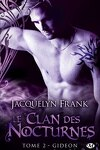 couverture Le Clan des Nocturnes, Tome 2 : Gideon