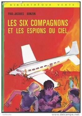 Couverture du livre : Les six compagnons et les espions du ciel