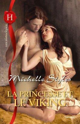 Couverture du livre : La princesse et le Viking