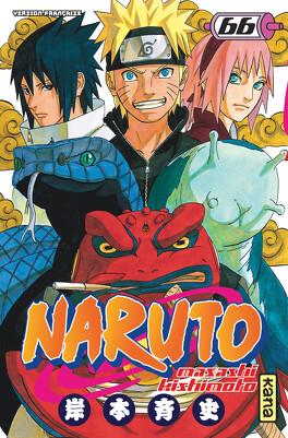 Couverture du livre : Naruto,Tome 66 : Le Nouveau trio