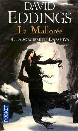 Couverture du livre : La Mallorée, Tome 4 : La sorcière de Darshiva