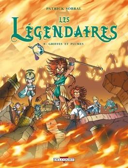 Couverture du livre : Les Légendaires, Tome 8 : Griffes et Plumes