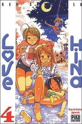 Couverture du livre : Love Hina, tome 4