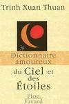 couverture Dictionnaire amoureux du ciel et des étoiles