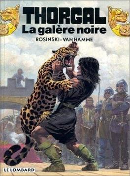 Couverture du livre : Thorgal, tome 4 : La Galère noire