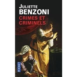 Couverture du livre : Crimes et criminels