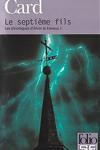couverture Les chroniques d'Alvin le Faiseur, tome 1 : Le Septième Fils