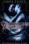 couverture Les Chroniques Krinar, Tome 2 : Obsessions intimes