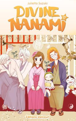 Couverture du livre : Divine Nanami, tome 17