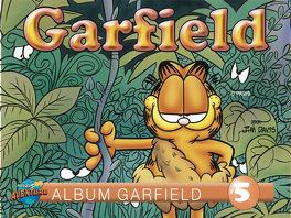 Couverture du livre : Garfield, Album 5