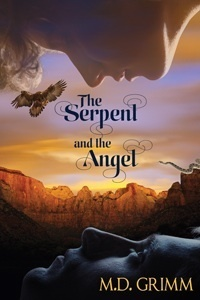 Couverture de La Saga des Métamorphes, Tome 8: The Serpent and the Angel