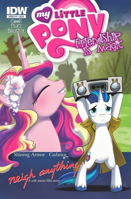 Couverture du livre : My Little Pony, tome 11 : Neigh Anything - Partie 1