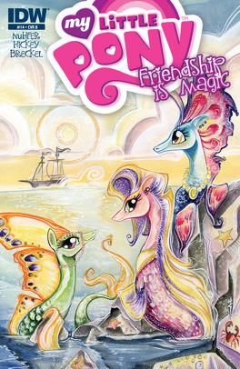 Couverture du livre : My Little Pony, tome 14 : The Salty Sea Mare - Partie 2