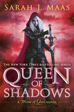 Couverture de Throne of Glass, tome 4: Queen of Shadows