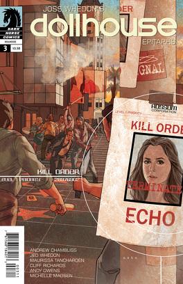 Couverture du livre : Dollhouse: Epitaphs - Volume 3