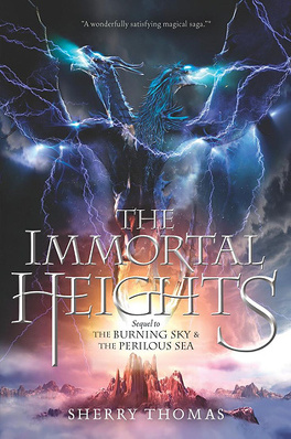 Couverture du livre : The Elemental Trilogy, Tome 3 : The Immortal Heights
