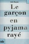 couverture Le Garçon en pyjama rayé