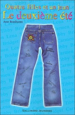 Couverture du livre : Quatre filles et un jean : Le Deuxième Été