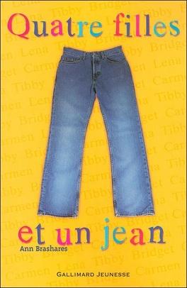 Couverture du livre : Quatre filles et un jean