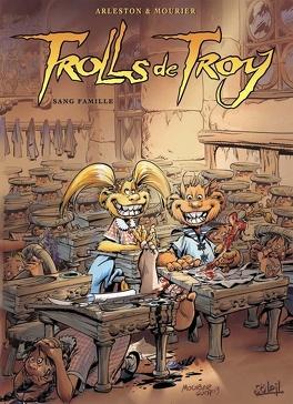 Couverture du livre : Trolls de Troy, Tome 12 : Sang famille (1)