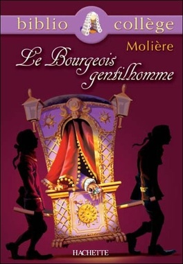 Couverture du livre : Le Bourgeois gentilhomme