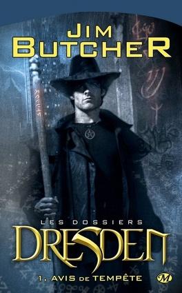Couverture du livre : Les Dossiers Dresden, Tome 1 : Avis de Tempête