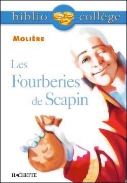 Couverture du livre : Les Fourberies de Scapin