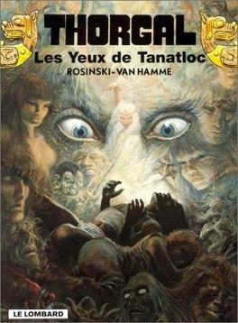 Couverture du livre : Thorgal, tome 11 : Les Yeux de Tanatloc