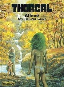 Couverture du livre : Thorgal, tome 8 : Alinoë