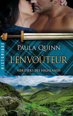 Couverture de Héritiers des Highlands, Tome 3 : L'envoûteur