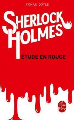 Couverture du livre : Une étude en rouge