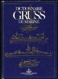 Couverture du livre : Dictionnaire Gruss de marine