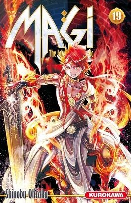 Couverture du livre : Magi : The Labyrinth of Magic, Tome 19