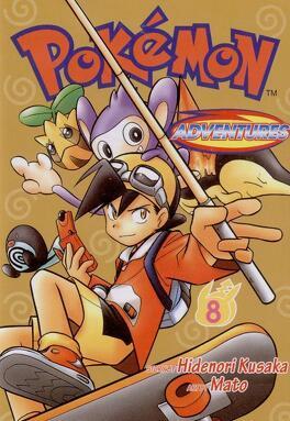 Couverture du livre : Pokémon, la grande aventure - Arc Or Argent Cristal, Tome 8