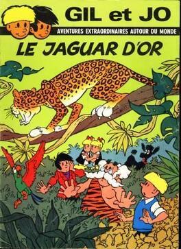 Couverture du livre : Gil et Jo : le jaguar d'or