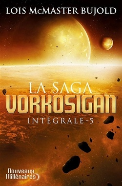 Couverture de La Saga Vorkosigan, Intégrale 5