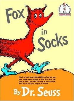 Couverture de Fox in Socks (Beginner Books)