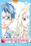 couverture Your lie in april, tome 1