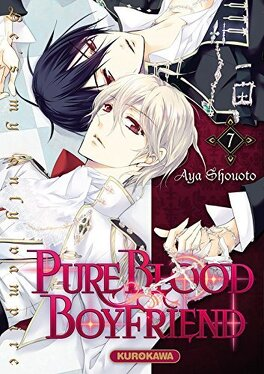 Couverture du livre : Pure blood boyfriend : He's my only vampire, Tome 7